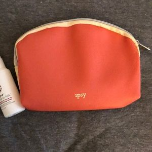ipsy Makeup - Ipsy make up bag and Rosarco Milk leave-in condit.